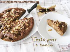 Torta di pere e cacao #senzaglutine #senzalatte sofficissima e gustosa! http://www.senzaebuono.altervista.org/torta-pere-e-cacao-senza-glutine