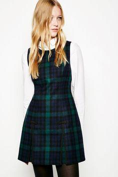 BARNTONGATE TARTAN SHIFT DRESS   JackWills US