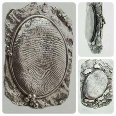 Uitdagingen: reticuleren en een vingerafdruk/ tweezijdige hanger met verschillende vngerafdruk by lareine/ fb-pagina: ilareine