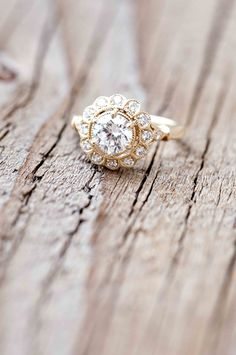 Wilson Diamonds: Ring Style Number R5512E #scalloped #yellowgold