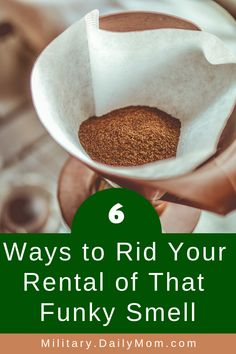 We've put together a list of 6 natural air freshener that you can use to battle those gross lingering odors and have your house smelling so fresh and so clean!  #apartment #stinky #odor