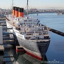 Queen Mary, Long Beach, CA. One our best anniversary trips....also haunted!