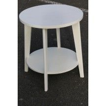 Table basse blanche on pinterest coffee tables table - Alinea table basse blanche ...