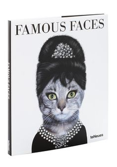 Famous Faces, so what would your cat look like if she were Elizabeth Taylor?