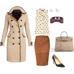 """""""spring work outfit"""" by jennyastrid on Polyvore"""