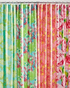 Lilly Pulitzer® Sister Florals Shower Curtain. it might have to happen!