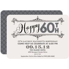 adult birthday party invitations by tiny prints