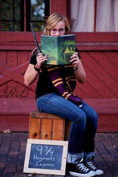Harry Potter Senior Portraits