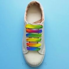 Shoelace styles you must try to pep-up your sneakers, Ways To Lace Shoes, How To Tie Shoes, Shoe Crafts, Clothes Crafts, Diy Fashion, Ideias Fashion, Diy Converse, 5 Minute Crafts Videos, Creative Shoes