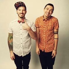 Tyler and Josh from Twenty One Pilots <3