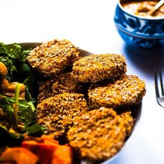 Mmm... Baked some crusted tempeh for lunch... Can't believe it s so good! :-D
