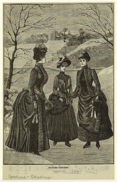 Skating-Costumes : 1888
