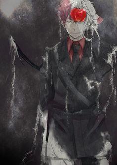 Devil England, uk hetalia