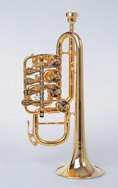 Rotary Valve Trumpet http://www.youtube.com/watch?v=GNS5ocp51DQ