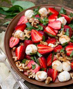 Wellness Wednesday: 10 Healthy Summer Salads #recipes