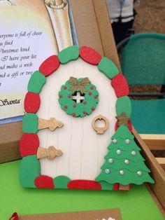 Magical Christmas, Christmas Elf, Christmas Themes, Christmas Decorations, Xmas, Elf Door, Sticky Pads, Tooth Fairy, Beautiful Hands