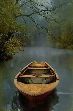"""julesfalkhunter: The Old Lake by Carlos Casamayor One of these days I'm going to be rowing an old boat across the lake … Stunningly beautiful image . heartbeatoz: """"The Old Lake"""" Fine Art Print by Carlos Casamayor - RedBubble Jolie Photo, New Beginnings, The Great Outdoors, Serenity, Beautiful Places, Beautiful Pictures, Simply Beautiful, Trees Beautiful, Peaceful Places"""