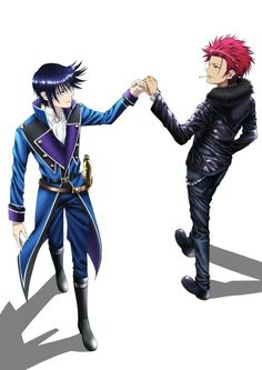 K Project - Mikoto Suoh x Reisi Munakata - MikoRei Kk Project, K Project Anime, Anime Nerd, Anime Guys, Missing Kings, Suoh Mikoto, Return Of Kings, Black Butler Characters, New Poster
