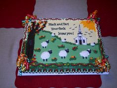 pastor appreciation cake ideas | Pastor Appreciation Cakes