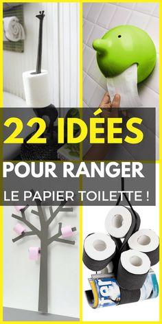 22 Idées de Rangement Pour Votre Papier Toilette