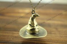 Hogwarts Sorting Hat Necklace.