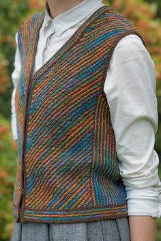 Ravelry: Lakemoor Vest pattern by Jann Hoppler