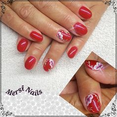 #red #rednails #micropittura #nailartist #nail #fashion #beauty #unghiegel #passion