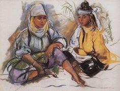 Zinaida Serebriakova - Deux marocaine