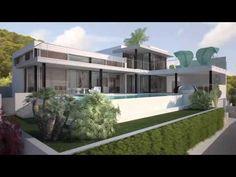 Ultra-modern luxury villa for sale on Ibiza - Luxury Villas Ibiza - YouTube