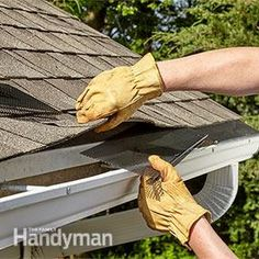 Installing leaf guard gutters can put that miserable, messy, stinky job of cleaning out gutters behind you. Discover three of the best gutter guard options for your roof. Gutter Accessories, Cat Accessories, Gutter Screens, Rain Gutter Cleaning, Diy Gutters, Gutter Protection, Leaf Guard, Roof Cladding, Cleaning Screens