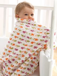 Baby Blanket | Yarn | Free Knitting Patterns | Crochet Patterns | Yarnspirations