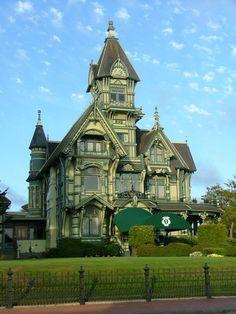 Carson Mansion, Eureka CA -