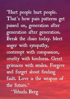 Amazing truth. Break the chain.