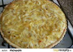 Cibulový quiche recept - TopRecepty.cz Quiche, Pie, Cooking, Desserts, Recipes, Food, Torte, Kitchen, Tailgate Desserts