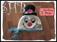 It is beginning to look a lot like winter, and you know what that means…snowmen! And, this snowman is the Frostiest Snowman of All! (And the cutest too!) This crochet hat pattern is written for sizes Newborn to Adult. A great gift for any snowman lover!  $4.97