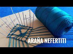 Araña Nefertiti de encaje de bolillos Raquel M.Adsuar Bolillotuber - YouTube Bobbin Lace Patterns, Lace Heart, Lace Jewelry, Needle Lace, Lace Making, Lace Detail, Embroidery, Youtube, Bobbin Lace
