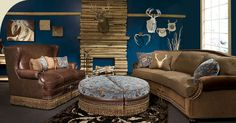 Marshfield Furniture, founded in is a family-owned upholstery manufacturer headquartered in Marshfield, Wisconsin. Marshfield Furniture, Lodge Furniture, Conversation Sofa, Interior Design Services, Leather Sofa, Ottoman, Upholstery, Couch, Rustic