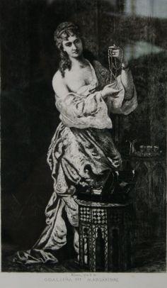 Theodor Aman - Odalisque
