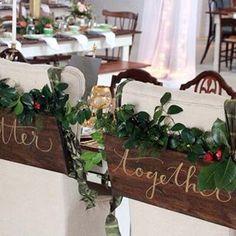 For the Mr. & Mrs. #rusticwedding #outdoorwedding #southernbride #atlantabride #georgiabride #barnwedding #farmhousestyle #vintagebride #receptionvenue