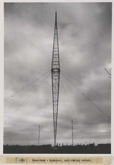 Blaw-Knox Budapest [Hungary] antifading antenna 1933, reproduction image (1937). IET Archives NAEST 211/02/08/07 C.4166