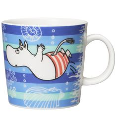 Moomin Mugs from Arabia – A Complete Overview Moomin Mugs, Tove Jansson, Mumi, Sea Shells, Cartoon, Cupboard, Tableware, Clothes Stand, Armoire