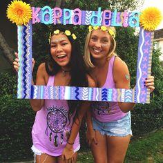 Kappa Delta at San Diego State University #KappaDelta #KD #BidDay #PhotoOp #sorority #SDSU