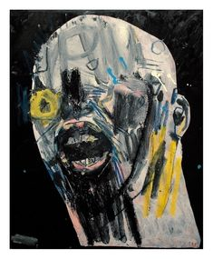 44 Original Artworks curated by Jessica McQueen, Halloween. Original Art Collection created on September Painting Collage, Painting Portraits, Modern Art, Contemporary Art, Neo Dada, Art Alevel, Thing 1, The Other Art Fair, Nyc Art