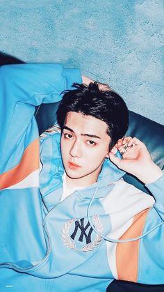 Oh sehun (lil bunny) Baekhyun, Exo Kai, Park Chanyeol, Chanbaek, Kaisoo, Exo Ot12, K Pop, Kpop Exo, Sekai Exo