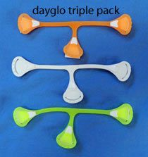 Dayglo Snappi!  Just ordered 2 packs.