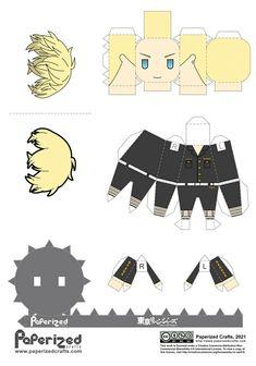 Chifuyu Matsuno Tokyo Revengers Papercraft