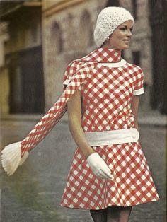 Jean Patou Vogue spring 1970 #vintagefashion #ritacitoyenne #marseille