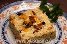Oya's Cuisine - Symirna Rice/Pilaf