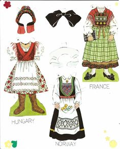 This set features two girls, Kristen and Margaret and traditional costumes from various countries. This was a ...
