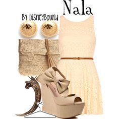 Nala, created by leslieakay on Polyvore